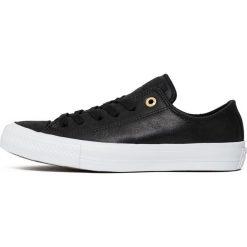 "Buty Converse Chuck Taylor All Star II Craft Leather ""Black"" (C555958). Czarne buty sportowe damskie Converse, z materiału. Za 219,99 zł."