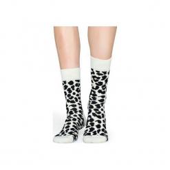 Skarpetki Happy Socks  LEO01-1000. Czerwone skarpetki męskie marki Happy Socks, z bawełny. Za 24,43 zł.