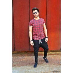 Spodnie dresowe męskie: LONG PANTS 5 BUTTONS UNISEX dresowe -czarne