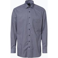 OLYMP Luxor modern Fit - Koszula męska niewymagająca prasowania, niebieski. Białe koszule męskie na spinki marki DRYKORN, m. Za 249,95 zł.