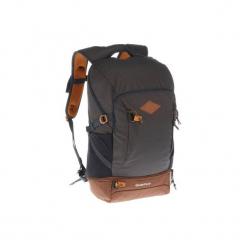 Plecak turystyczny NH500 30 l. Szare plecaki męskie marki QUECHUA, z materiału. Za 139,99 zł.