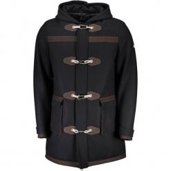 Płaszcz w kolorze czarnym. Czarne płaszcze na zamek męskie marki Guess, na zimę, m. W wyprzedaży za 1299,95 zł.
