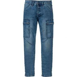 """Dżinsy ze stretchem Slim Fit Straight bonprix Niebieski """"stone"""" Used. Niebieskie jeansy męskie relaxed fit marki House, z jeansu. Za 79,99 zł."""