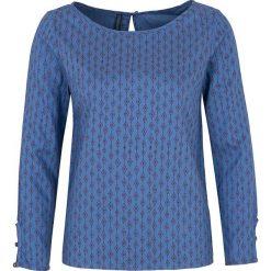 """Bluzki asymetryczne: Koszulka """"Gaya"""" w kolorze niebieskim"""