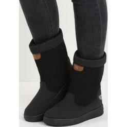 Czarne Śniegowce Carry Power. Czarne buty zimowe damskie Born2be. Za 69,99 zł.