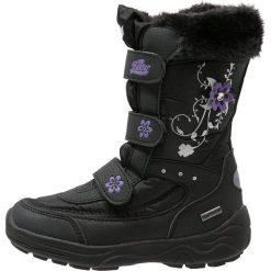 Buty zimowe damskie: LICO MARY  Śniegowce schwarz/lila