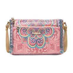 Desigual Torebka Damska Vinland Toulouse, Wielokolorowa. Różowe torebki klasyczne damskie Desigual, w kolorowe wzory. Za 200,00 zł.