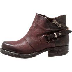 A.S.98 Ankle boot falun. Czerwone botki damskie skórzane A.S.98. Za 839,00 zł.