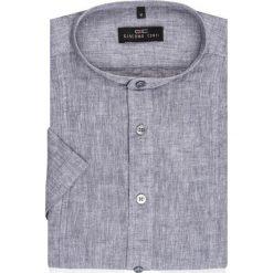 Koszula SIMONE KLPR500013. Niebieskie koszule męskie na spinki marki Reserved, m, ze stójką. Za 149,00 zł.