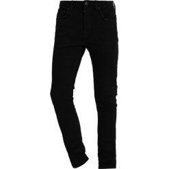 Jeansy męskie regular: AllSaints BODA CIGARETTE Jeans Skinny Fit jet black