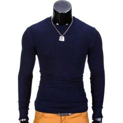 Bluzy męskie: BLUZA MĘSKA BEZ KAPTURA B700 – GRANATOWA