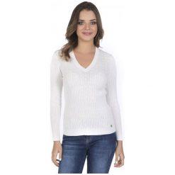 Giorgio Di Mare Sweter Damski Xl Biały. Białe swetry klasyczne damskie marki Giorgio di Mare, xl, z materiału. Za 159,00 zł.