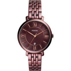 FOSSIL - Zegarek ES4100. Różowe zegarki damskie marki Fossil, szklane. Za 699,90 zł.