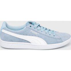 Puma - Buty Vikky Cerulean. Szare buty sportowe damskie Puma, z gumy. W wyprzedaży za 179,90 zł.