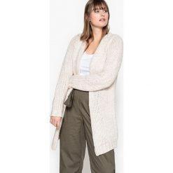 Swetry rozpinane damskie: Sweter rozpinany z grubej dzianiny