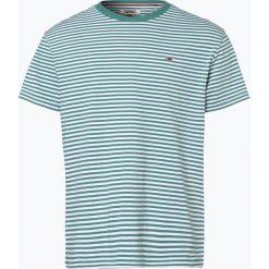 T-shirty męskie: Tommy Jeans - T-shirt męski, zielony
