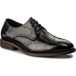 Półbuty WITTCHEN - 85-M-923-1 Czarny. Czarne buty wizytowe męskie Wittchen, ze skóry. W wyprzedaży za 279,00 zł.