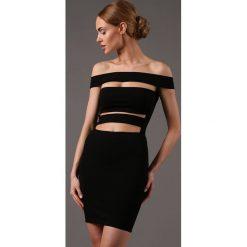 Sukienki: Sukienka Czarna KIKI53240