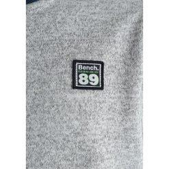 Bench BONDED BASEBALL  Bluza rozpinana grey marl. Szare bluzy chłopięce rozpinane Bench, z bawełny. Za 209,00 zł.