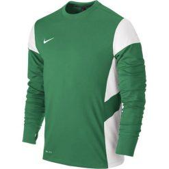 Bluzy męskie: Nike Bluza męska LS Academy 14 Midlayer zielono-biała r. S (588471 302)
