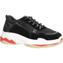 Czarne buty sportowe na koturnie Casu 7-K546A. Czarne buty ślubne damskie marki Casu. Za 69,99 zł.