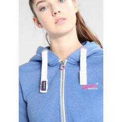 Bluzy damskie: Superdry ORANGE LABEL PRIMARY ZIPHOOD Bluza rozpinana boardwalk blue marl