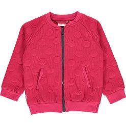 """Bluza """"Summer 602"""" w kolorze fuksjowym. Czerwone bluzy niemowlęce LEGO Wear, z aplikacjami. W wyprzedaży za 85,95 zł."""