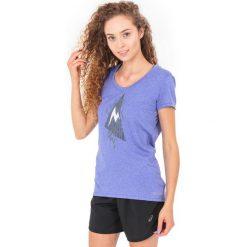 Bluzki asymetryczne: Marmot Koszulka damska Post Time Tee Marmot  fioletowa r. S (597903847)