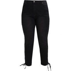 Liquor N Poker Curve Jeansy Slim Fit black denim. Czarne jeansy damskie marki Liquor N Poker Curve. W wyprzedaży za 159,20 zł.