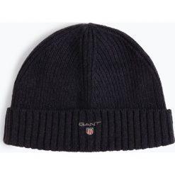Gant - Czapka męska, niebieski. Niebieskie czapki męskie GANT, z bawełny. Za 179,95 zł.