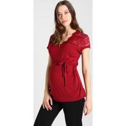 T-shirty damskie: mint&berry mom Tshirt z nadrukiem bordeaux