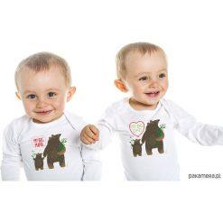 Pajacyki niemowlęce: zestaw: body dla dziecka. big mama i big dad