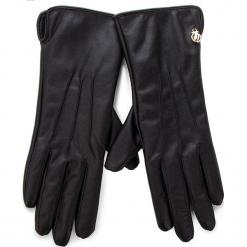 Rękawiczki Damskie TRUSSARDI JEANS - Gloves 58Z00073 K299. Czarne rękawiczki damskie Trussardi Jeans, z jeansu. Za 189,00 zł.