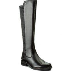 Oficerki CAPRICE - 9-25515-29 Black Nappa 022. Różowe buty zimowe damskie marki Caprice, z materiału. W wyprzedaży za 439,00 zł.