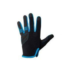 Rękawiczki długie JR. Czarne rękawiczki damskie B'TWIN. Za 39,99 zł.