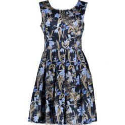 Sukienki hiszpanki: Sukienka w kolorze niebiesko-oliwkowym
