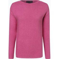 Franco Callegari - Sweter damski, różowy. Zielone swetry klasyczne damskie marki Franco Callegari, z napisami. Za 229,95 zł.