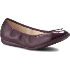 Baleriny damskie: Baleriny CLARKS - Dance Puff Jnr 261201866 Purple Leather