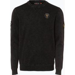 Superdry - Sweter męski, szary. Pomarańczowe swetry klasyczne męskie marki Superdry, l, z bawełny, z kapturem. Za 329,95 zł.
