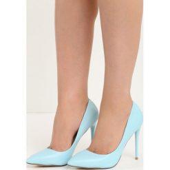 Błękitne Szpilki Modern Lady. Niebieskie szpilki Born2be, na wysokim obcasie. Za 64,99 zł.