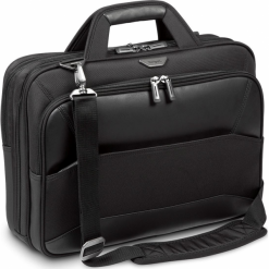"Targus Mobile VIP15.6""  Large Topload czarna. Czarne torby na laptopa Targus, z materiału. Za 299,00 zł."