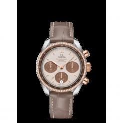ZEGAREK OMEGA Speedmaster 324.28.38.50.02.002. Białe zegarki damskie OMEGA, szklane. Za 35400,00 zł.