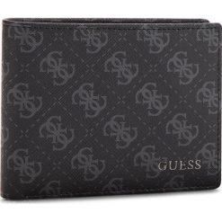 Duży Portfel Męski GUESS - SM2535 LEA20  BLA. Czarne portfele męskie marki Guess, ze skóry ekologicznej. Za 279,00 zł.