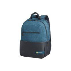 Torby na laptopa: Plecak AMERICAN TOURIST City Drift 39.6cm/15.6 Czarno-niebieski