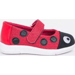 Emu Australia - Tenisówki dziecięce Ladybug Ballet. Czerwone buty sportowe dziewczęce EMU Australia, z materiału. W wyprzedaży za 139,90 zł.