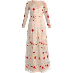 Długie sukienki: IVY & OAK EMBROIDERED DRESS Długa sukienka soft sand