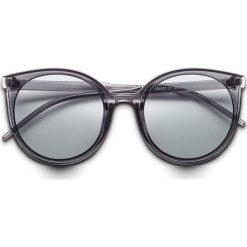Okulary przeciwsłoneczne bonprix czarny. Czarne okulary przeciwsłoneczne damskie lenonki bonprix. Za 24,99 zł.