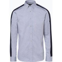 Calvin Klein - Koszula męska – Galdo, szary. Szare koszule męskie na spinki Calvin Klein, m, w paski, z bawełny. Za 279,95 zł.