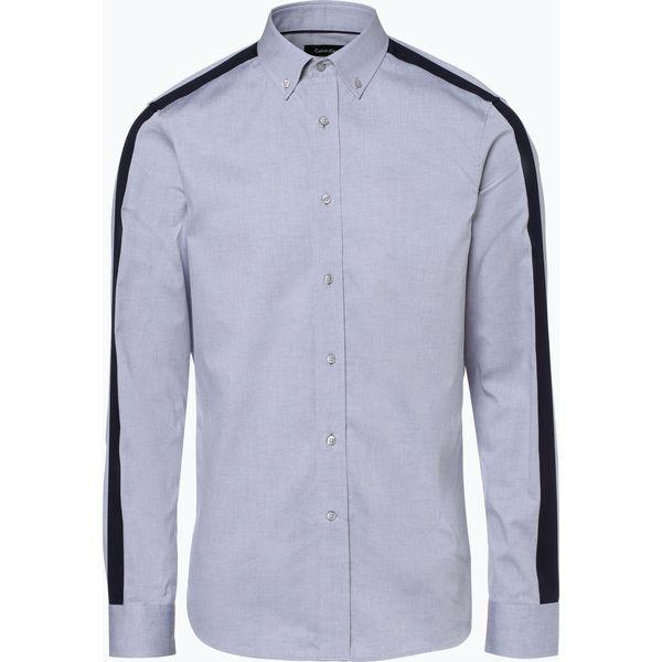 8e78aa709 Calvin Klein - Koszula męska – Galdo, szary - Szare koszule męskie Calvin  Klein, m, w paski, z bawełny, bez kołnierzyka, bez rękawów. Za 279,95 zł.