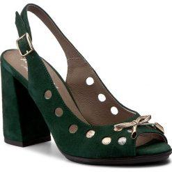 Sandały damskie: Sandały ANN MEX - 8022 13W+02SRD+11SR Zielony